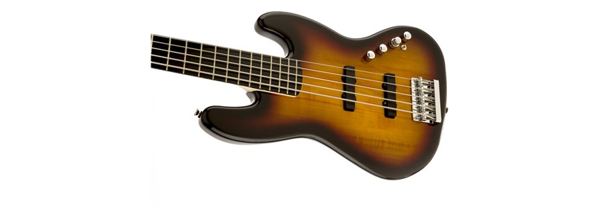 Deluxe Jazz Bass® Active V (5-String) - 3-Color Sunburst