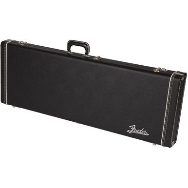G&G Deluxe Hardshell Cases - Jaguar® | Jazzmaster® | Toronado® | Jagmaster™ - Black with Orange Plush Interior