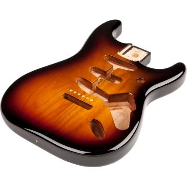 Classic Series 60's Stratocaster® SSS Alder Body Vintage Bridge Mount - 3-Color Sunburst -