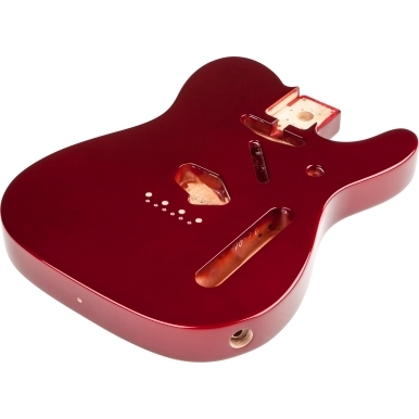 Classic Series 60's Telecaster® SS Alder Body Vintage Bridge Mount - Candy Apple Red -