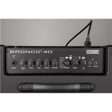 Bronco™ 40 - Black and Silver