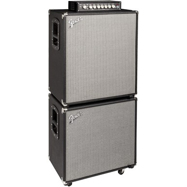 Rumble™ 115 Cabinet - Black and Silver