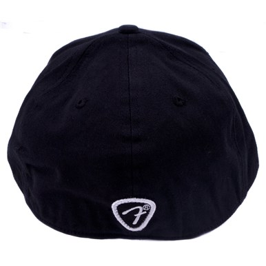 Fender® Logo Stretch Cap - Black