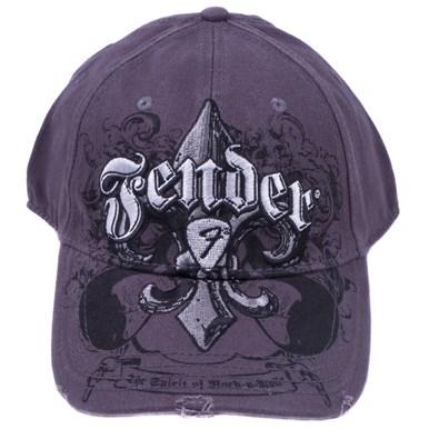 Fender® Fleur de Funk Stretch Cap - Charcoal
