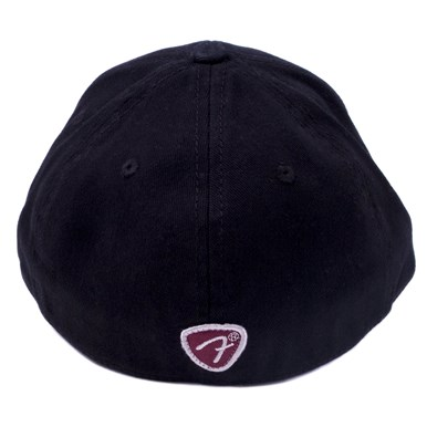 Fender® Patch Logo Stretch Cap - Black