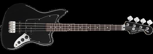 Vintage Modified Jaguar® Bass Special SS (Short Scale) Black