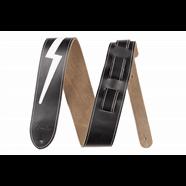 Fender® Leather Lightning Bolt Strap in