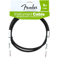 Fender® Performance Series Instrument Cables (Straight-Straight) - Black