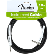 Fender® Performance Series Instrument Cables (Straight-Right Angle) in
