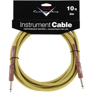 Fender® Custom Shop Performance Series Cables (Straight-Straight Angle) Tweed