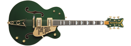 G6136I Bono Irish Falcon™, Ebony Fingerboard, Soul Green