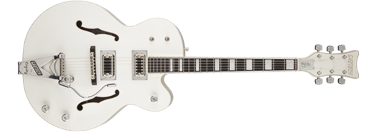 G7593T Billy Duffy Signature Falcon™ with Bigsby®, Ebony Fingerboard, White, Lacquer