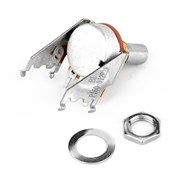 250K 15A Audio Taper Snap-In Potentiometer (Solid Shaft) -