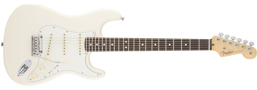 American Standard Stratocaster® in Olympic White