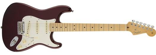 American Standard Stratocaster® in Bordeaux Metallic