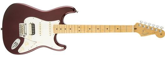 American Standard Stratocaster® HSS Shawbucker™ Bordeaux Metallic