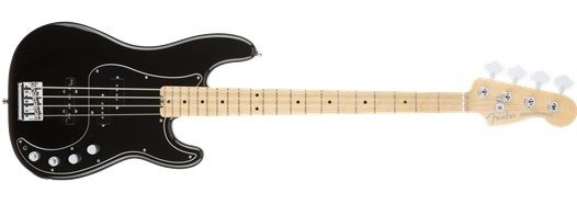American Elite Precision Bass® Black
