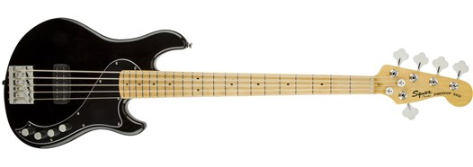 Squier Deluxe Dimension™ Bass V in Black