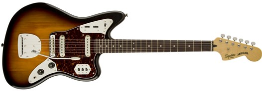 Vintage Modified Jaguar® 3-Color Sunburst