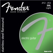Stainless Flatwound Electric Guitar Strings -