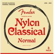 Classical/Nylon Guitar Strings - 3-Pack -
