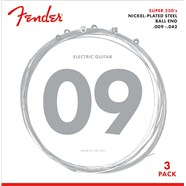 3-Pack Super 250's Nickel-Plated Steel Strings -