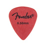 Fender® Touring Picks - 72 Count - Red