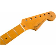 "Classic Series '50s Stratocaster® Neck with Lacquer Finish, Soft ""V"" Shape - Maple Fingerboard -"
