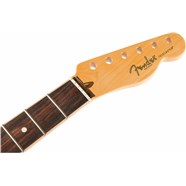American Channel Bound Telecaster® Neck, 21 Med Jumbo Frets - Rosewood -
