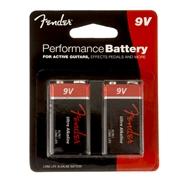 Fender Performance 9V Batteries - Two-Pack -