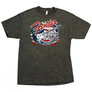 Fender® Stars 'N' Stripes Strat® T-Shirt - Gray