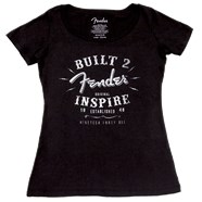 Fender® Ladies Inspire T-Shirt - Black