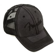 Fender® Blackout Trucker Cap in