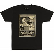 Fender® Sitting Player Men's T-Shirt - Black