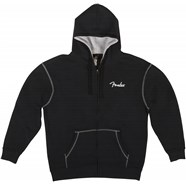 Fender® Are You Ready To Rock Hoodie - Black