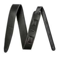 "Fender® Artisan Crafted Leather Straps - 2"" Black"