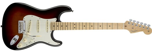 American Standard Stratocaster® in 3-Color Sunburst