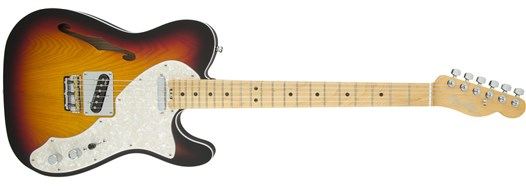 American Elite Telecaster® Thinline - 3-Color Sunburst