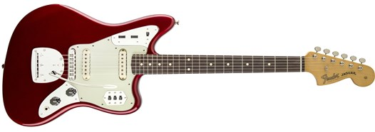 Classic Player Jaguar® Special Candy Apple Red