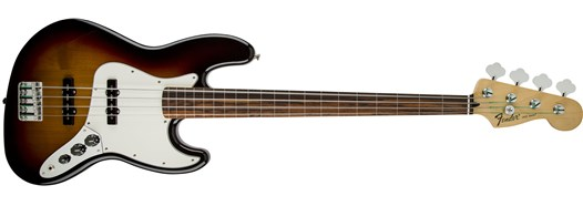 Standard Jazz Bass® Fretless Brown Sunburst