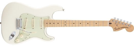 Deluxe Roadhouse™ Strat® Olympic White