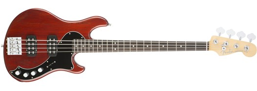 American Elite Dimension™ Bass IV HH Cayenne Burst
