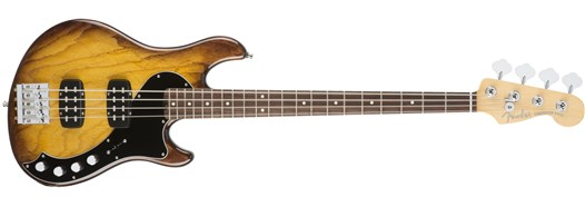American Elite Dimension™ Bass IV HH Violin Burst