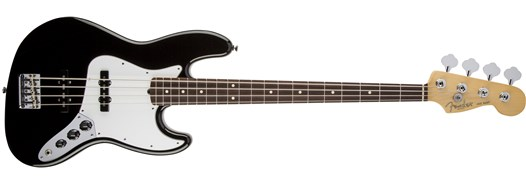 American Standard Jazz Bass® Black