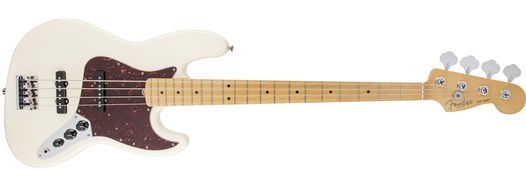 American Standard Jazz Bass® Olympic White