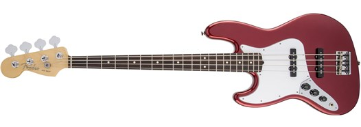 American Standard Jazz Bass® Left-Hand Mystic Red