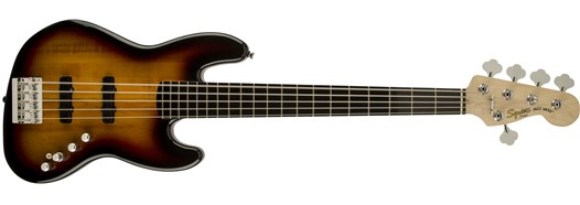 Deluxe Jazz Bass® V Active (5 String) - 3-Color Sunburst