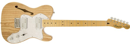 Squier® Vintage Modified '72 Tele Thinline in Natural