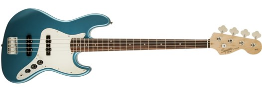 Affinity Series™ Jazz Bass® in Lake Placid Blue
