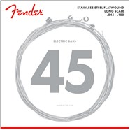 9050 Stainless Flatwound Bass Strings -